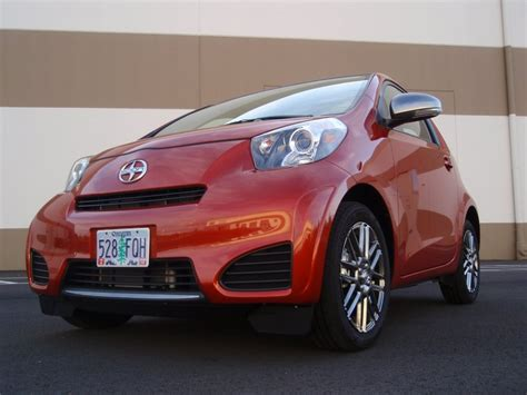 2012 scion iq best non hybrid gas mileage not in real world