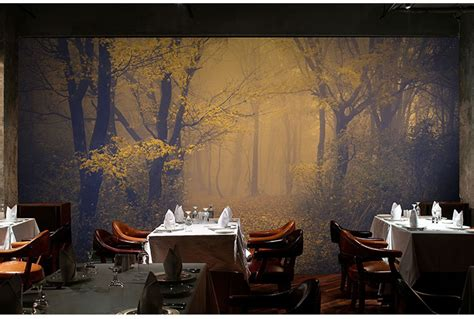 buy  mysterious forest wallpaper room