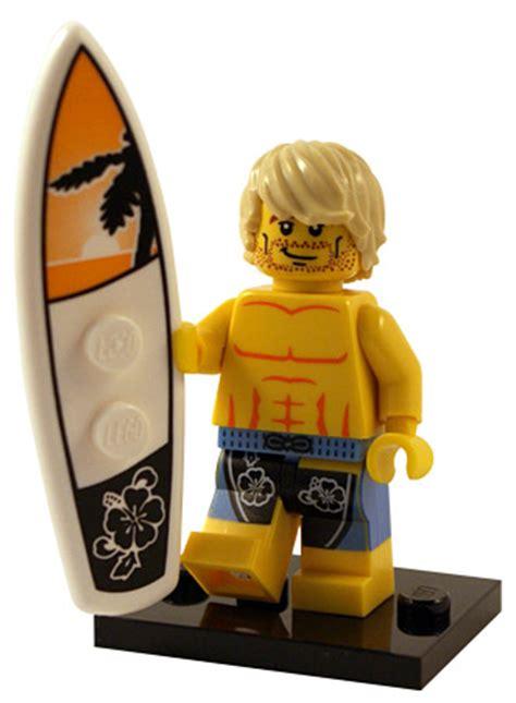 Lego Minifigures Series 2 Surfer surfer minifigures series 2 buy custom lego minifigures shop for army guns