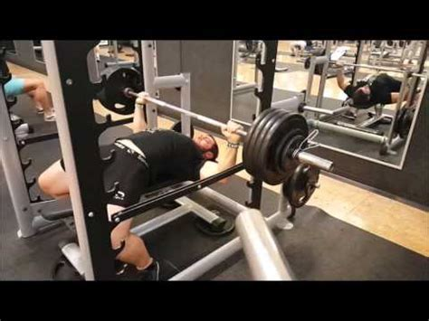 bench press 1rm 20151002 barbell bench press 1rm 155 kg 342 lbs youtube