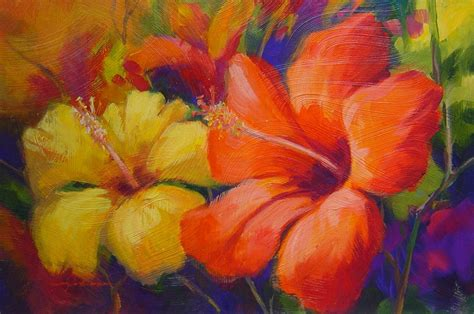 Paintings Of Flowers | free download flower paintings