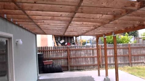 hansen l shade llc seattle wa home inspector seattle wa explains patio cover 425 207
