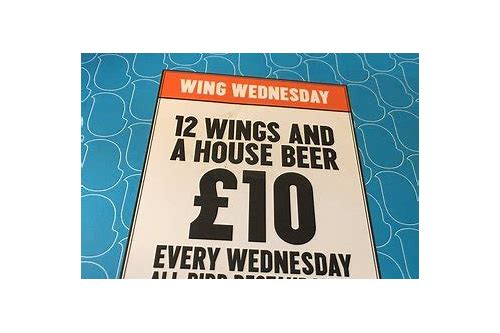 wednesday wing deals oakville