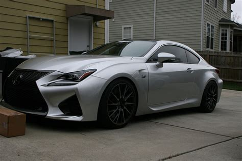 lexus rc f silver this lex is pure we can t wait to see more of this