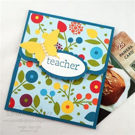 Thank You Gift Card Holders - teacher gift card holder teacher appreciation week year end teacher gift teacher