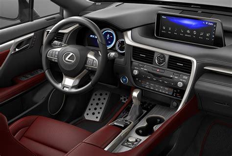 Lexus Rx 450h Facelift 2020 by 2020 Lexus Rx 450h Facelift Interior Colors Changes