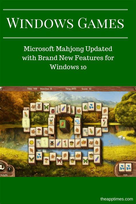 microsoft mahjong themes microsoft mahjong is now available for windows 10 with