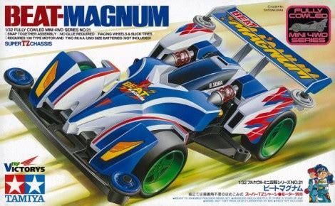 Beat Magnum 19421 beat magnum toko mini 4wd kit sparepart