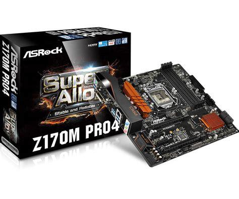Asrock Z170 Pro4 1151 asrock gt z170m pro4