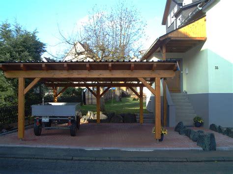 doppelcarport aus holz building a flat roof carport picture carport attached to