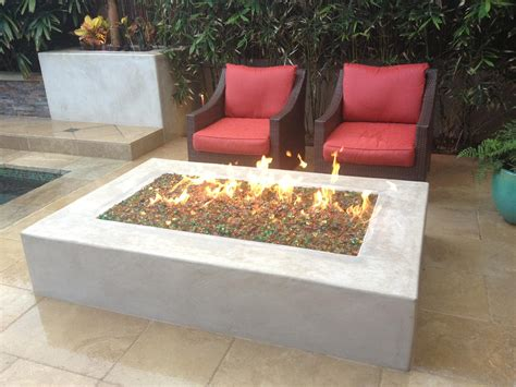 modern firepit modern concrete pit fireplace design ideas