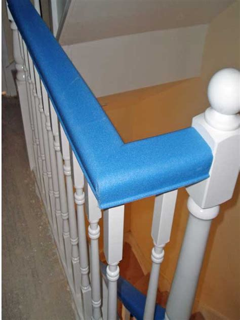 restaining banister rail stair banister protectors staircase gallery