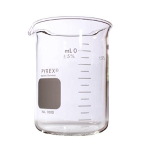 Duran Glass Beaker Low Form With Spout 800ml corning 174 1000 800 pyrex 174 800ml low form griffin beaker