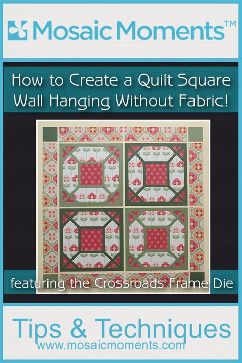 How To Quilt Without A Frame by How To Create A Quilt Square Wall Hanging