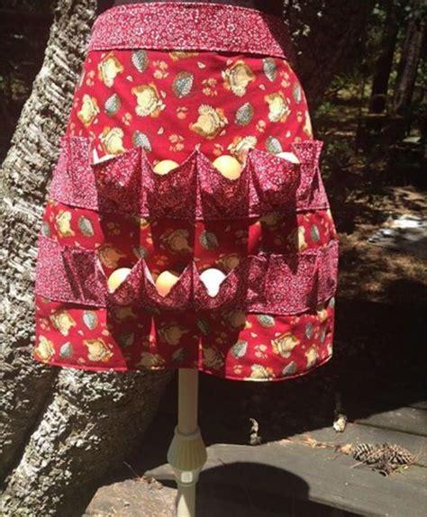 pattern egg gathering apron egg gathering apron crafts pinterest photos eggs