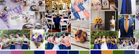 royal blue and pink wedding colors   Tulle & Chantilly
