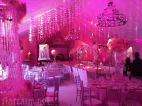 pink wedding decor the magazine