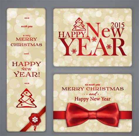 new year cards 2015 free ornate 2015 with new year cards vector vector