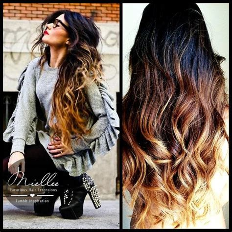in hair extensions ombre human hair texture