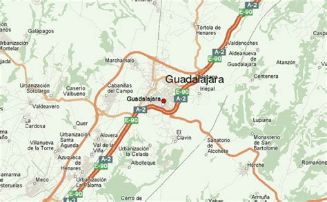 guadalajara map guadalajara spain location guide