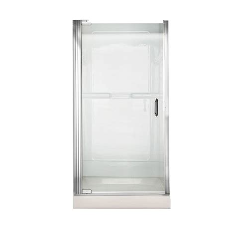 23 Shower Door Foremost Tides 23 In To 25 In X 65 In Framed Pivot
