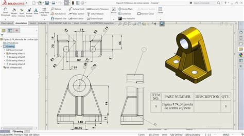 solidworks tutorial blueprints solidworks tutorial basics of drawing youtube