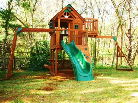 sky fort swing set swing set installation nj playset installer cedar summit