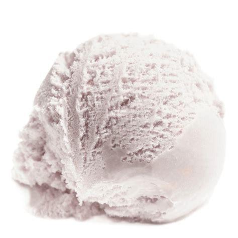 scoop  vanilla ice cream isolated  white background