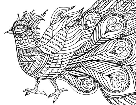 coloring pages for adults abstract pdf free printable abstract bird adult coloring page download