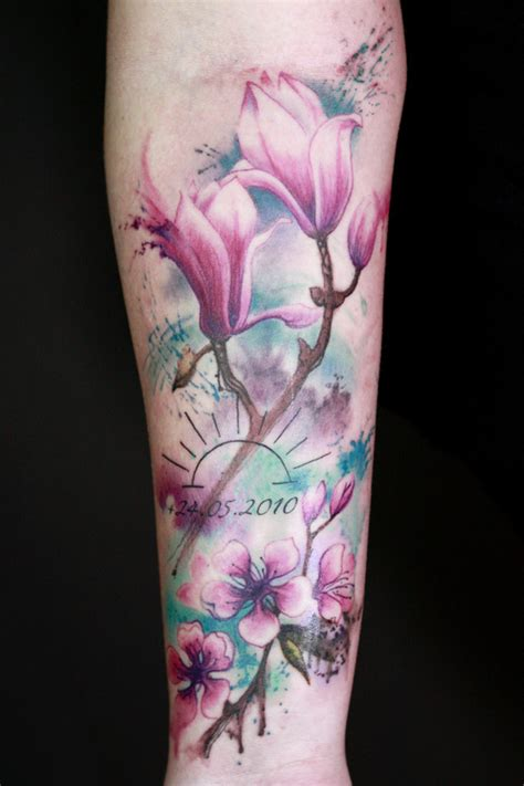 watercolor tattoo danmark tattoos lowkey