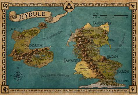 legend of zelda map of hyrule hyrule map by pend00 on deviantart