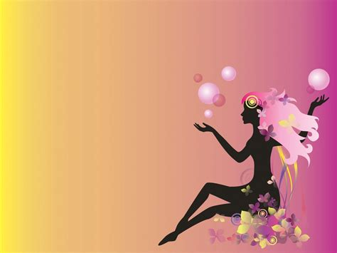 womens day ppt templates beauty backgrounds wallpaper cave