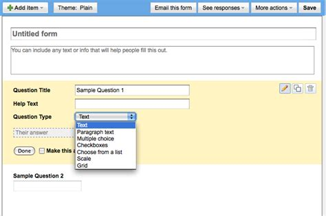 design form google create course surveys with google forms duke learning