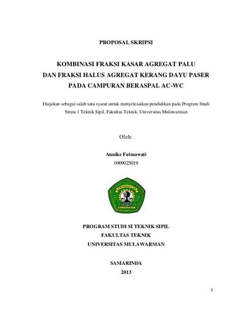 format skripsi universitas indonesia proposal skripsi annike
