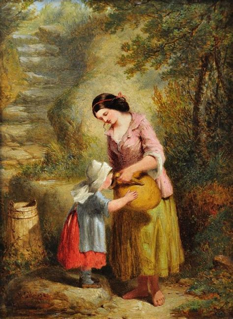 88 best images about victorian paintings of mother and