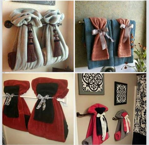 bathroom towel hanging ideas 17 best images about fancy towel folding on