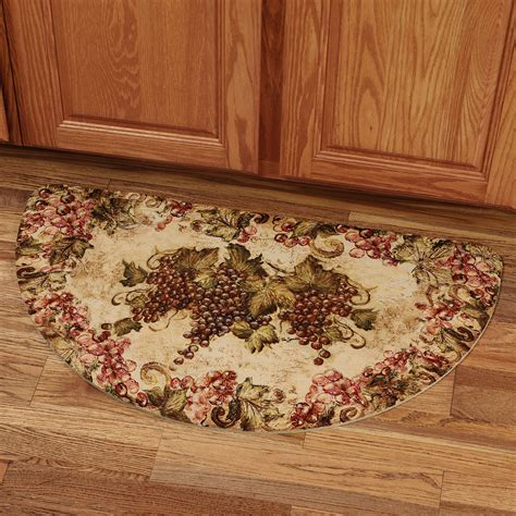 designer kitchen rugs grape design kitchen rugs conexaowebmix