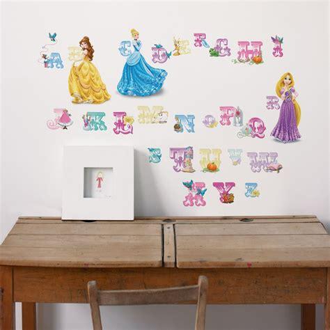 Buchstaben Wand Sticker by Wandsticker Buchstaben Princess Disney Wall De