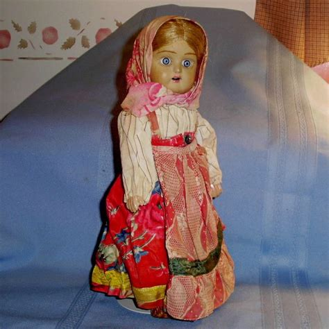russian bisque doll antique soviet union russian bisque jointed doll