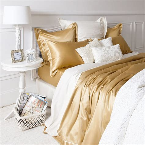 home decorators bedding jewels bedding zara gold silk pillow home decor