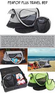 peapod plus travel bed top ten products of the week