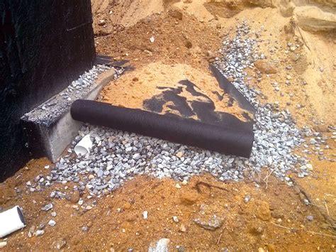 install drain basement proper drain tile installation will keep your basement
