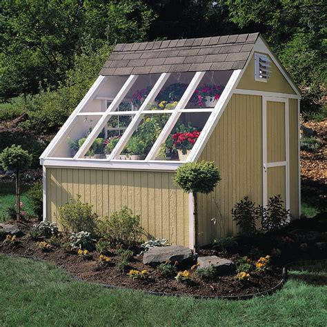 Solar Power For Sheds by New Hq 10 X 8 Dual Greenhouse Storage Solar Shed Garden