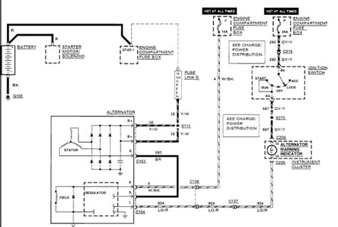 2003 lincoln zephyr alternator wiring diagram jeep