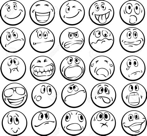 Emotional Faces Coloring Pages Download And Print For Free Emotion Faces Coloring Pages