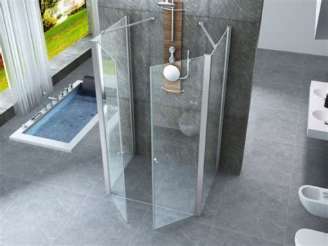 box doccia tre lati a scomparsa box doccia cristallo 6 mm frameless 3 lati due fisso