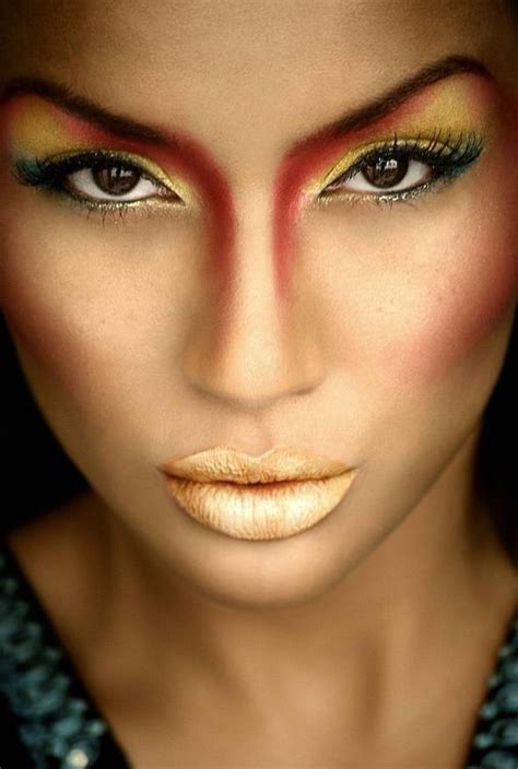 beauty garde 41 sundown beauty or art stunning avant garde makeup