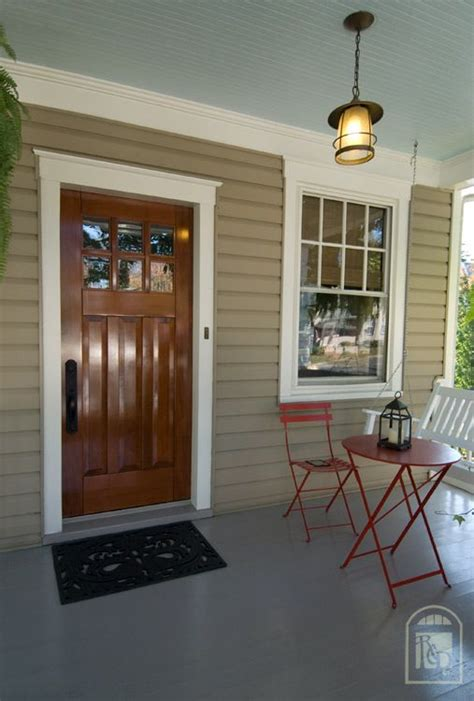 Exterior Ceiling Paint by Beautiful Craftsman Door Against Our Exterior Paint Color