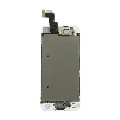 Lcd Iphone 5 Di Pgc lcd completo di assemblaggio frontale per iphone 5s bianco