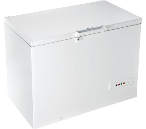 Home Freezer buy hotpoint cs1a300h chest freezer white free